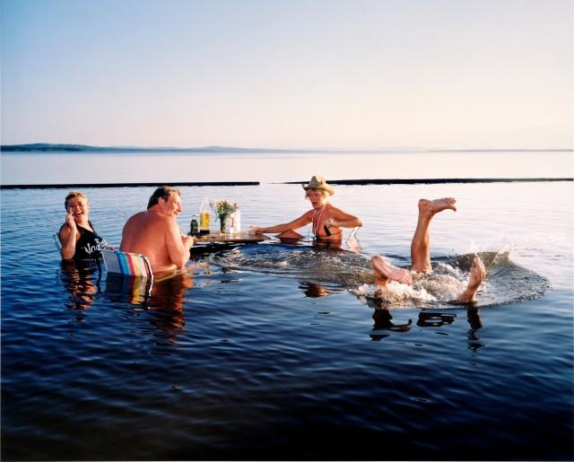 Середина лета в Реттвике, Швеция, 1988. Фотограф Ларс Тунбьёрк