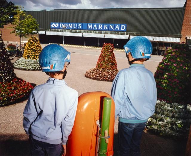 Domus, Швеция, 1990. Фотограф Ларс Тунбьёрк