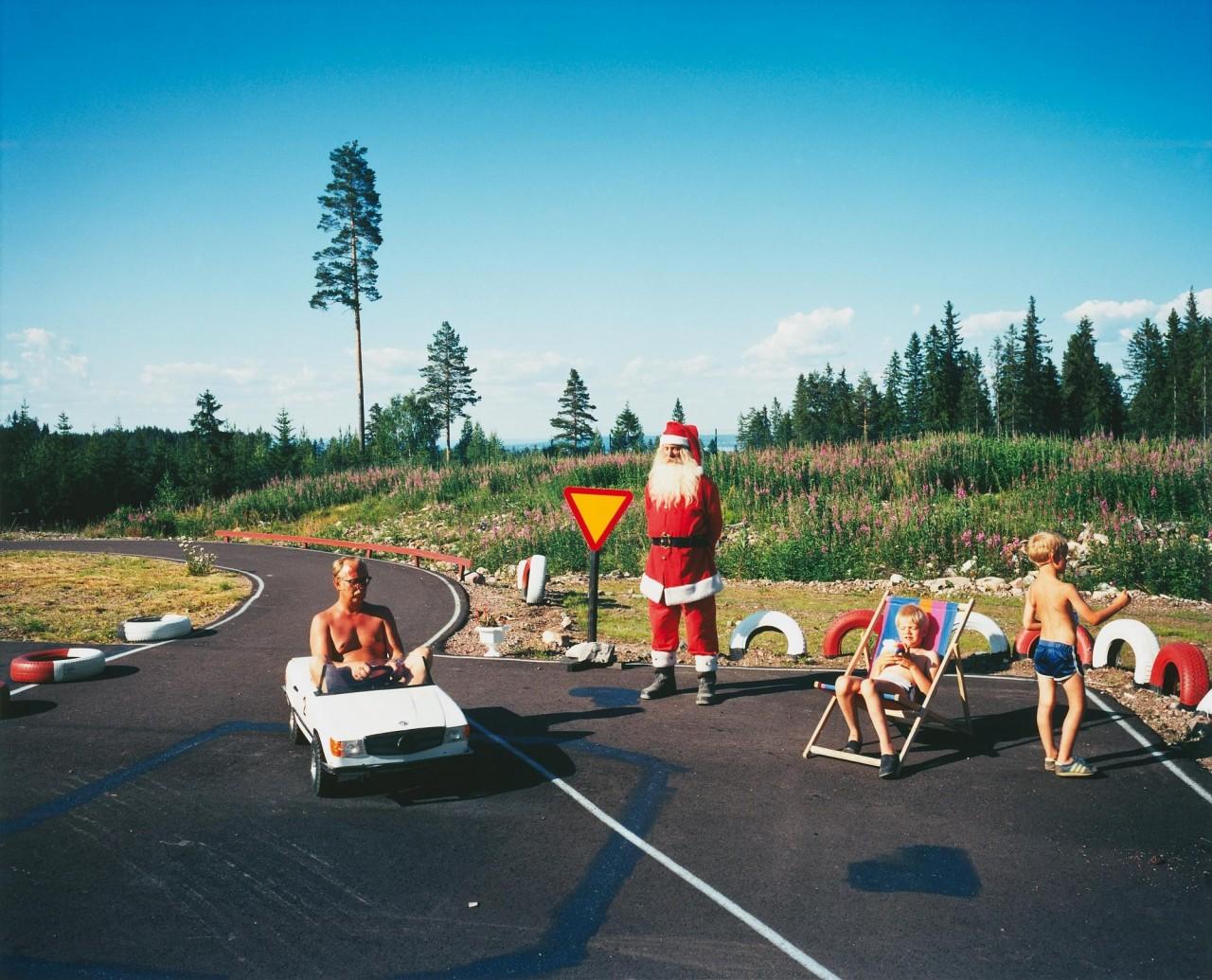 Из книги «Landet utom sig». Томтеленд, Мора, 1988. Фотограф Ларс Тунбьёрк