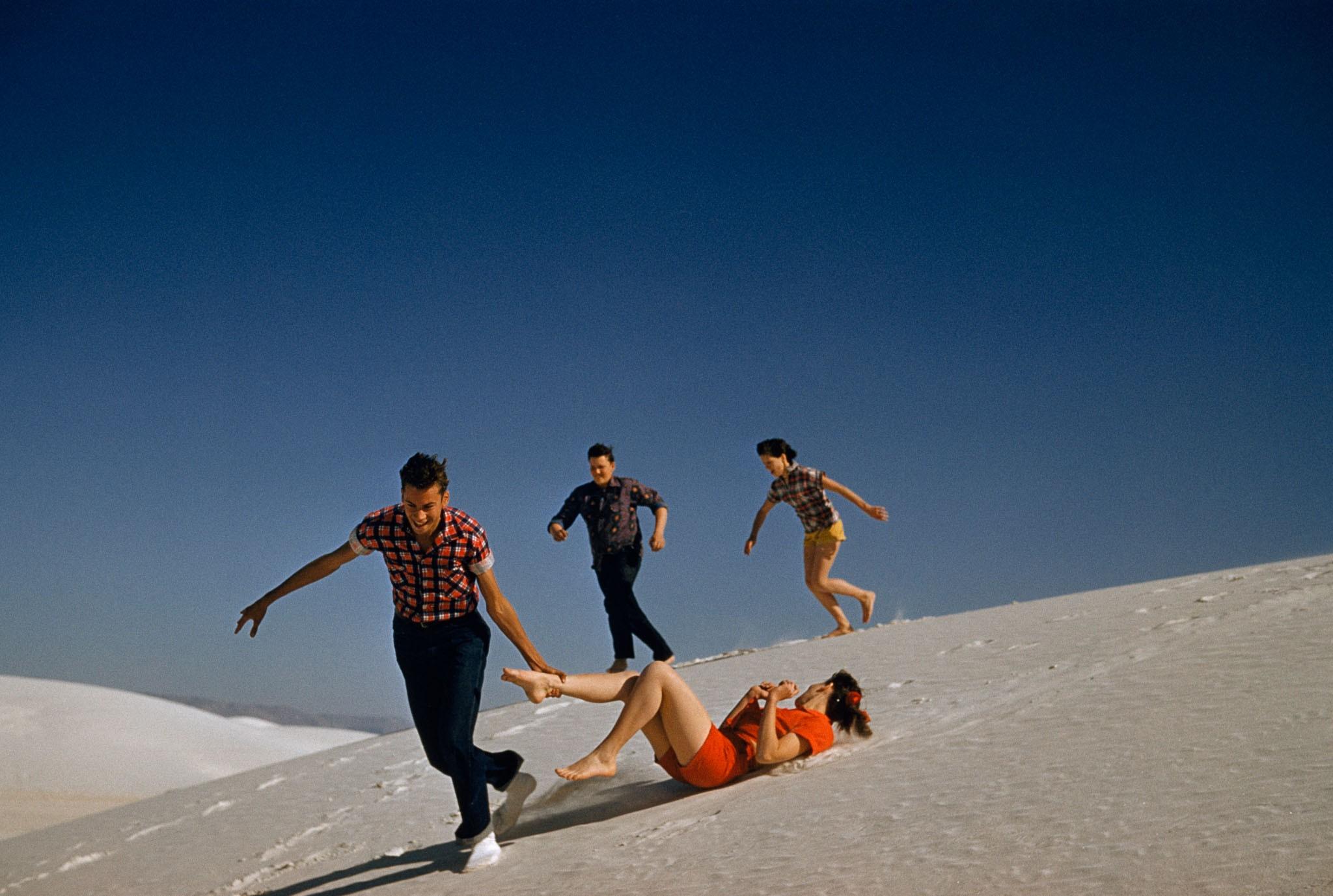 Песчаные дюны в Нью-Мексико, 1957. Фотограф Дж. Бейлор Робертс