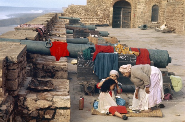 Старый обитаемый форт, Марокко, 1972. Фотограф Бруно Барби