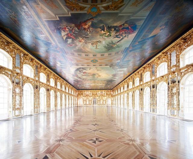 Екатерининский дворец, Пушкин, 2014. Фотограф Кандида Хёфер