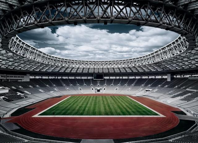 Стадион «Лужники», Москва, 2008. Фотограф Ральф Касперс