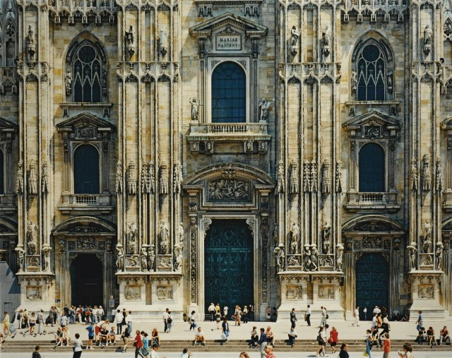 Миланский собор (фасад), 1998. Фотограф Томас Штрут