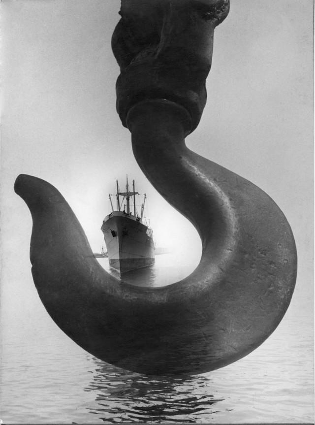 Якорь, Санта-Марта, Колумбия, 1952. Фотограф Лео Матиз
