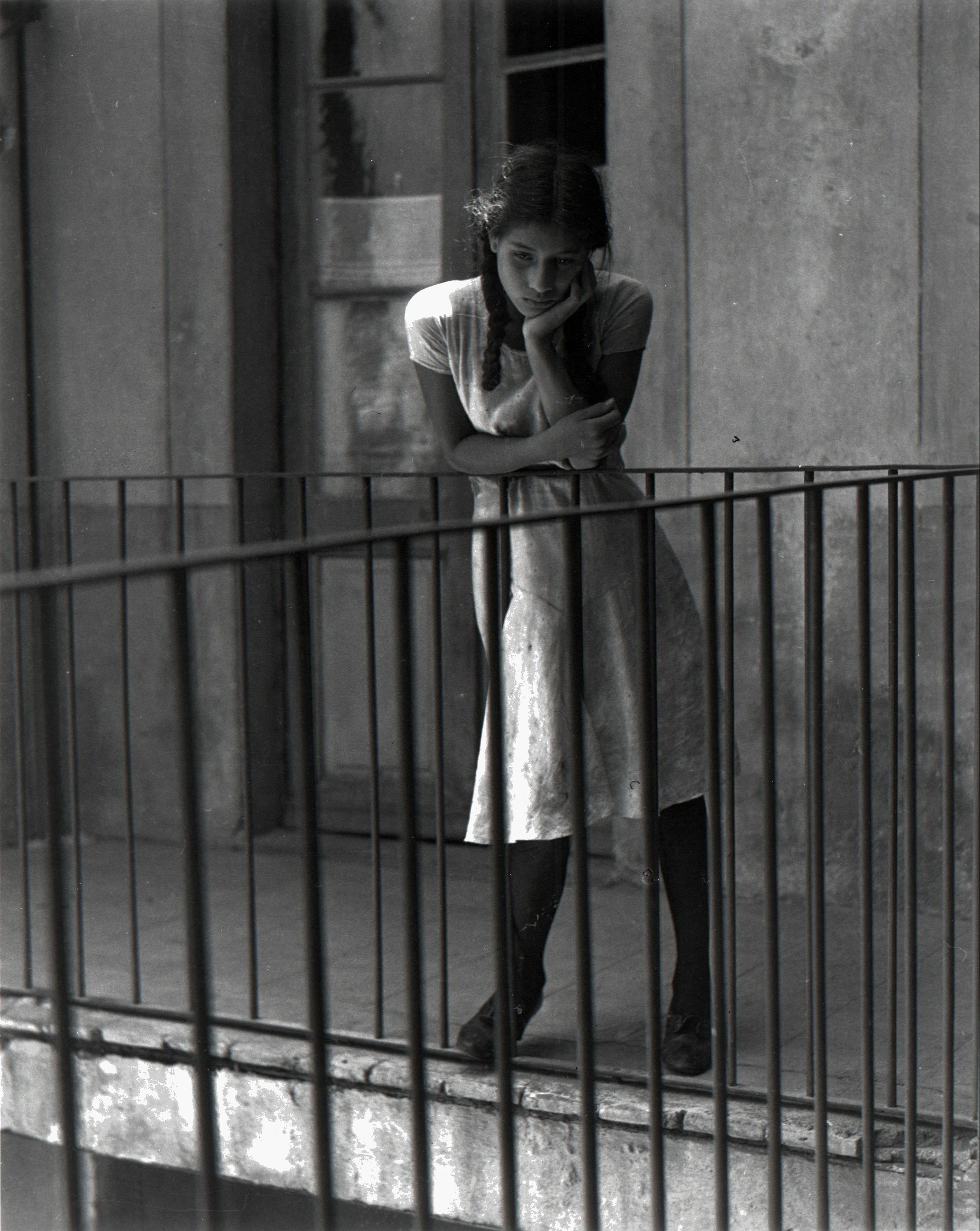Задумчивость, 1931. Фотограф Мануэль Альварес Браво