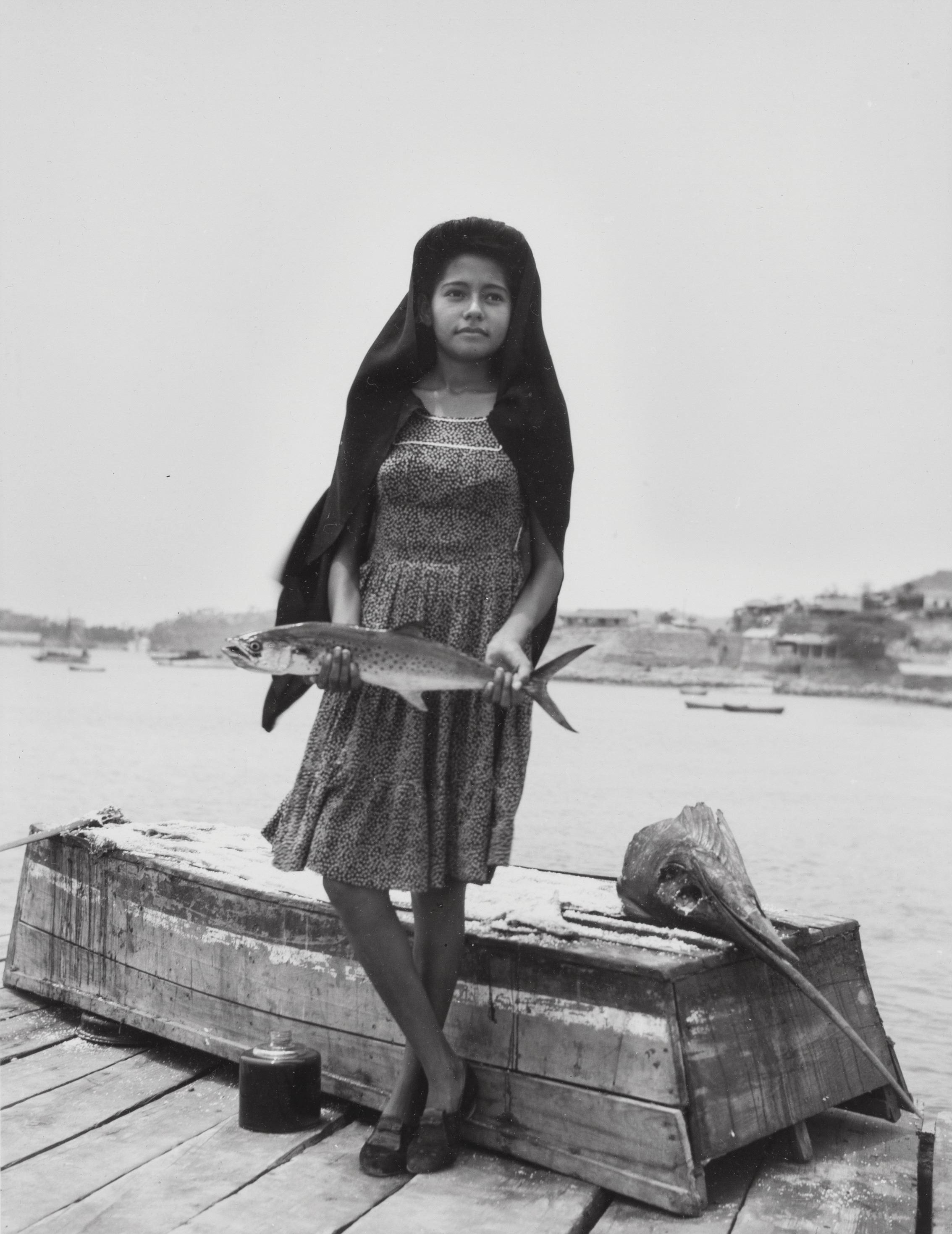 Меч-рыба, 1944. Фотограф Мануэль Альварес Браво