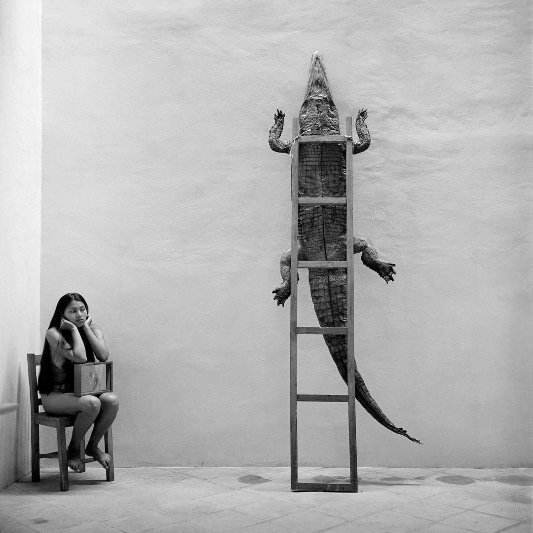 Оахака, Мексика, 1995. Фотограф Грасьела Итурбиде