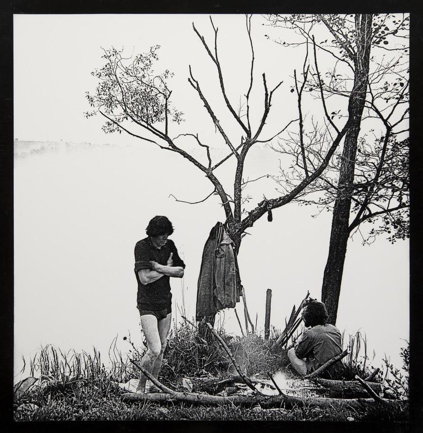 Утро на озере, 1990. Фотограф Михаил Жилинский