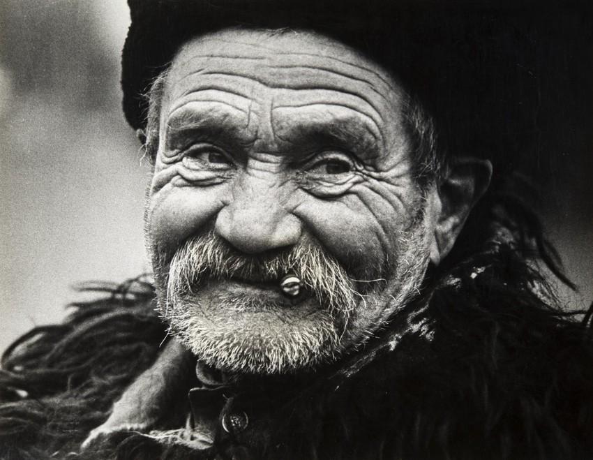 Дед Ефим, 1985. Фотограф Анатолий Дудкин