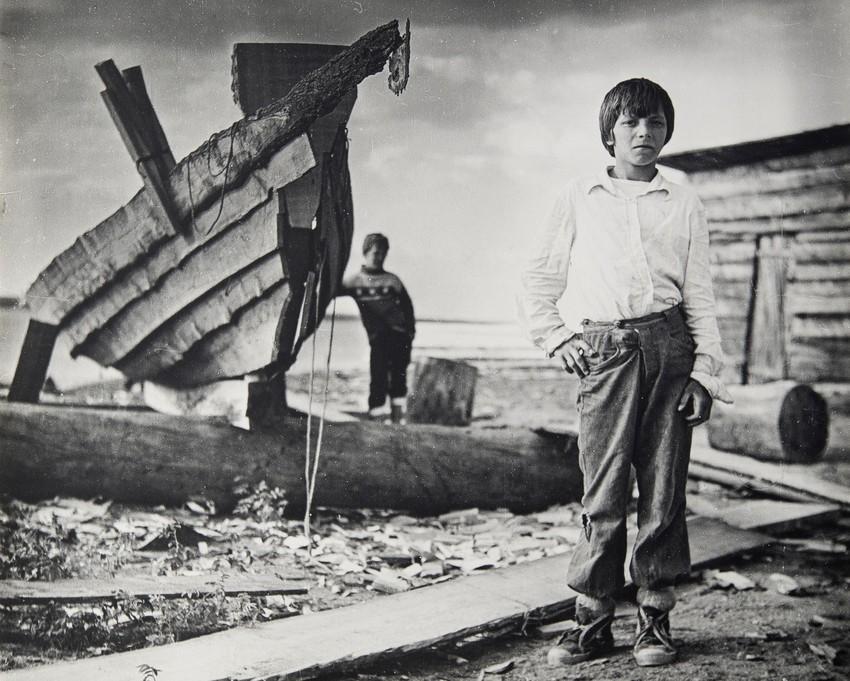 Из серии «Летние каникулы на Енисее», 1986. Фотограф Виктор Бутра