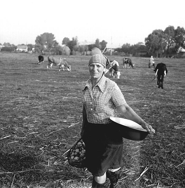 Из серии «Полесье», 1983. Фотограф Юрий Васильев