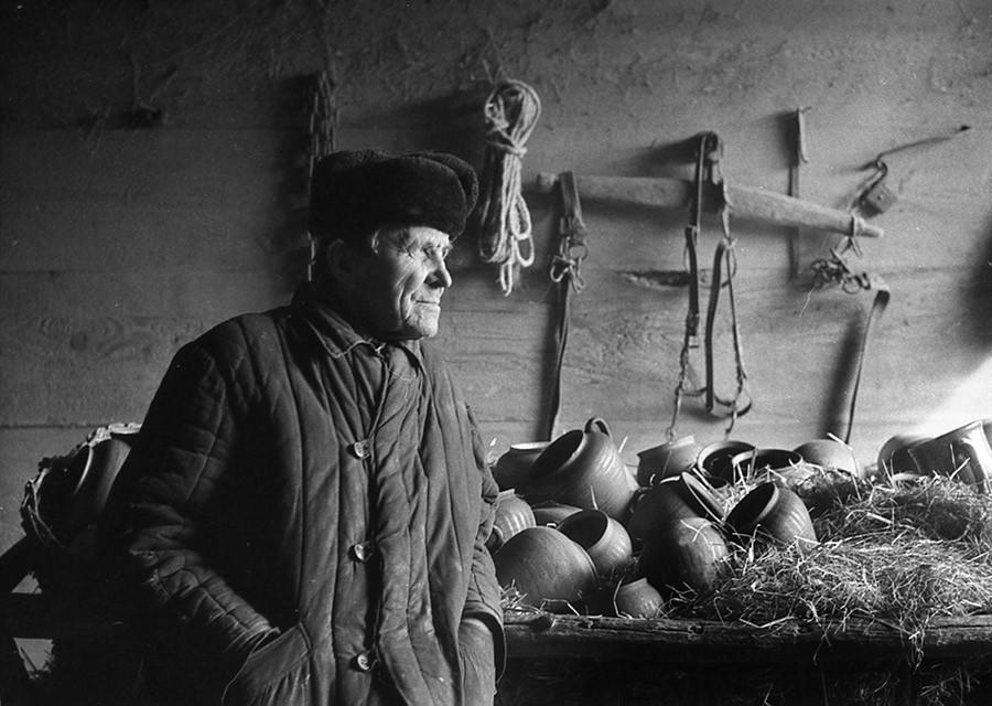 Полесье, 1984. Фотограф Валерий Ведренко
