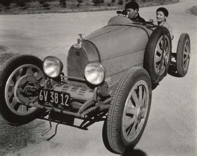 Bugatti, 1931. Фотограф Эдвард Уэстон