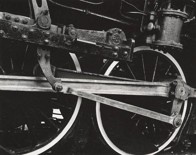 Колёса локомотива. Сан-Франциско, Калифорния, 1938. Фотограф Соня Носковяк