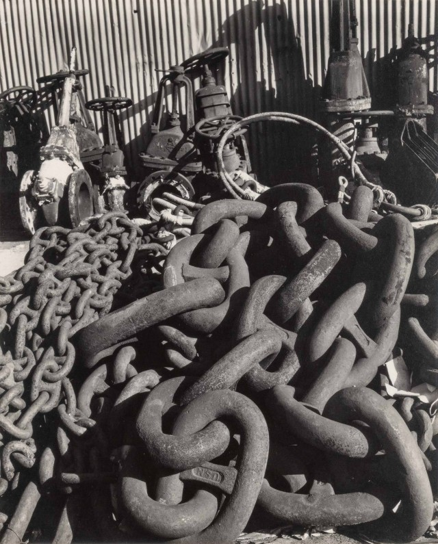 Набережная Окленда, 1933. Фотограф Имоджен Каннингем