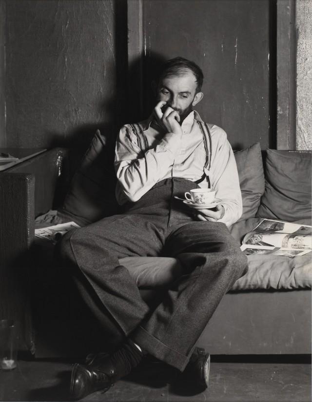 Энсел Адамс, 1933. Фотограф Уиллард Ван Дайк