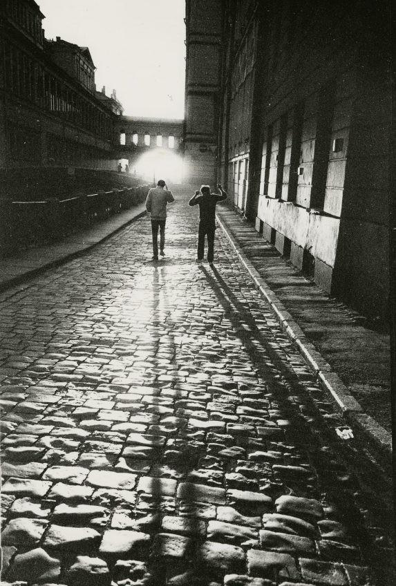 Без названия (Зимняя канавка), 1989. Фотограф Сергей Королев