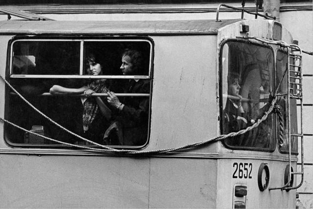 Общественный транспорт, 1988. Фотограф Александр Китаев