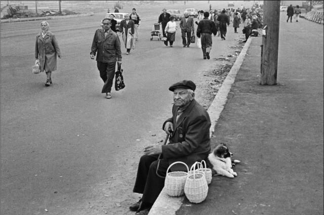 У Володарского моста. Фотограф Сергей Подгорков