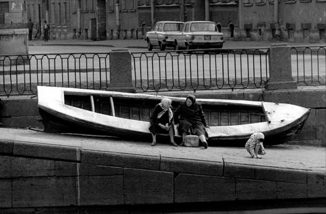 «Морячки», 1981. Фотограф Александр Китаев