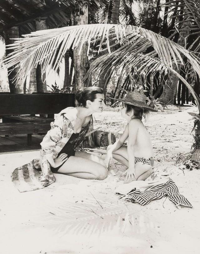 «На Багамах» для Vogue, 1959. Норман Паркинсон