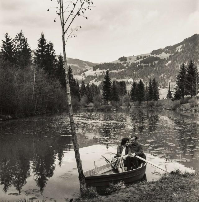 Знаменитый скрипач и дирижёр Иегуди Менухин. Норман Паркинсон