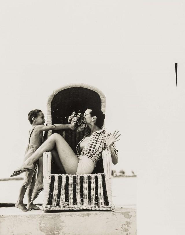 Кармен Делль'Орефиче для Vogue. Норман Паркинсон