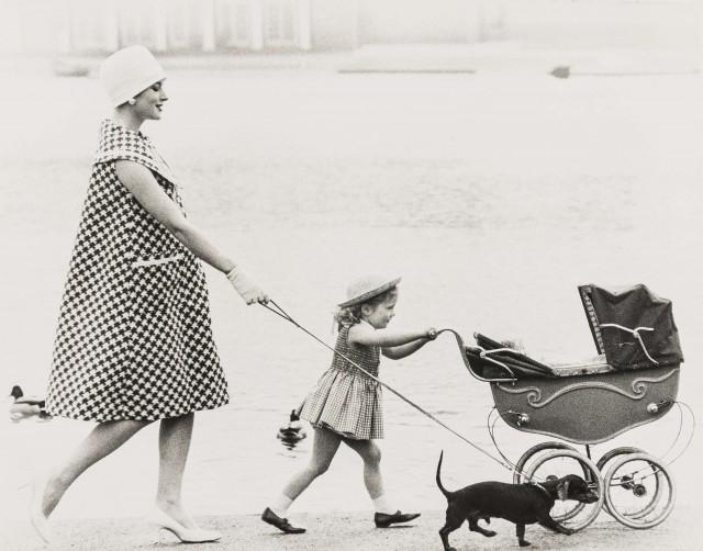 Леди Рендлшам с дочерью. Норман Паркинсон