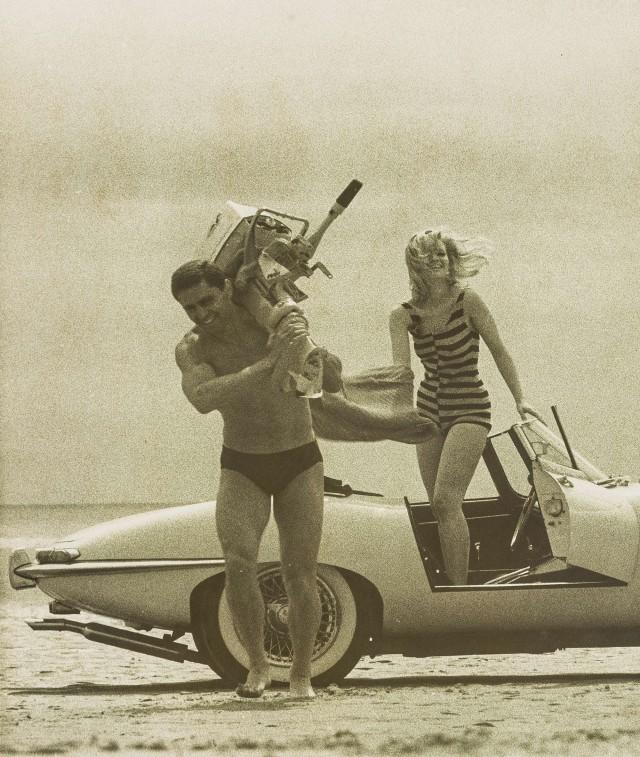 Модели Эль Наги и Селия Хаммонд, 1963-1964. Норман Паркинсон
