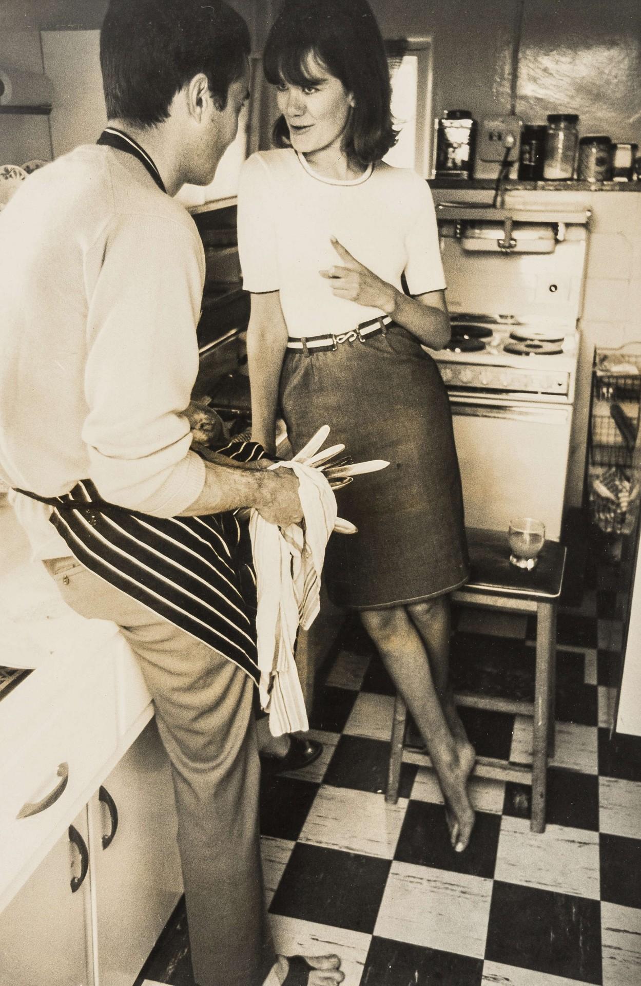 Редакционный портрет Вики Стривенс и Боба Смита. Норман Паркинсон
