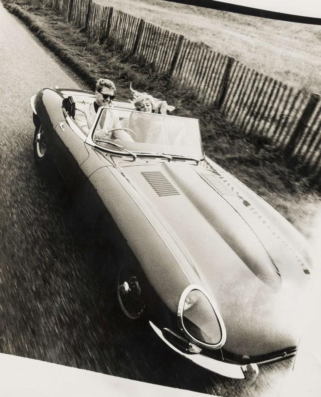 Реклама роскошных автомобилей. Норман Паркинсон