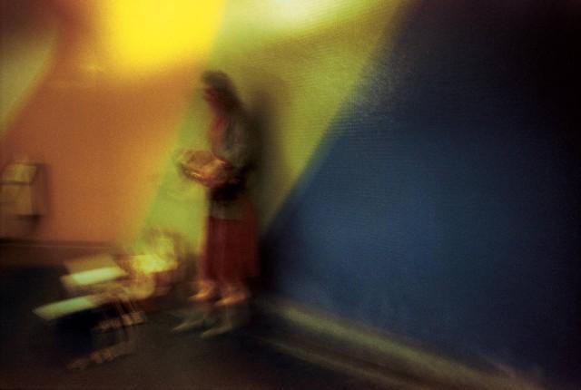 Играющая на бандонеоне. Фотограф Долорес Марат