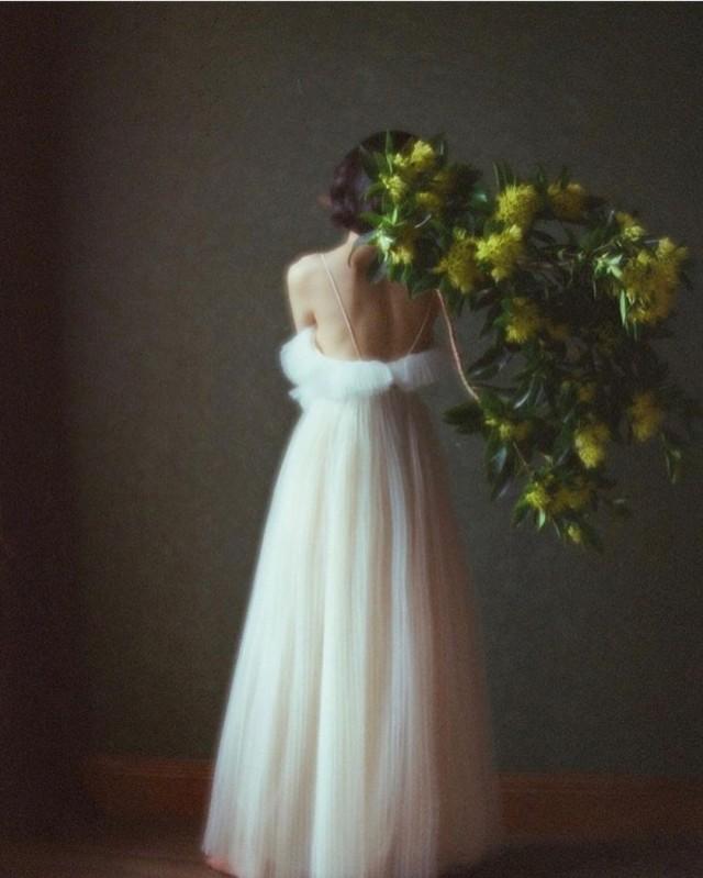 Белое платье. Фотограф szu_ching_photography