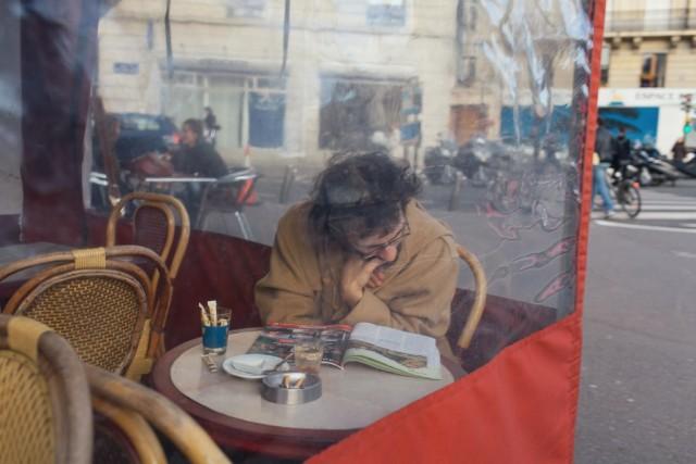 Кафе, Париж. Фотограф Пьер Вайзер