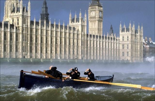 Полисмены, Лондон, 1990. Фотограф Нильс Йоргенсен
