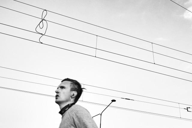Скрипичный ключ (музыка повсюду), Стокгольм. Фотограф Эдас Вонг