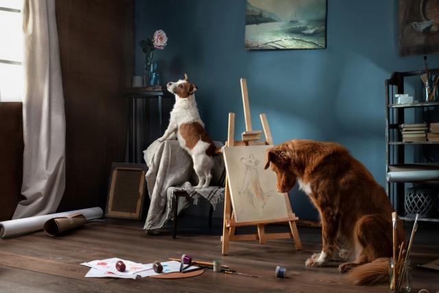 «Художник его муза». Фотограф Анна Аверьянова