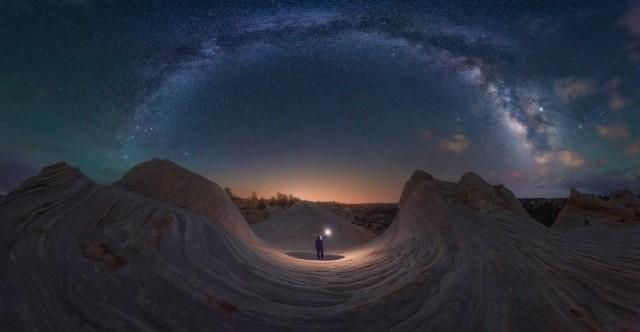 «Мечты сбываются». Панорама, снятая штате Юта. Фотограф Кастро Пардо Хулио