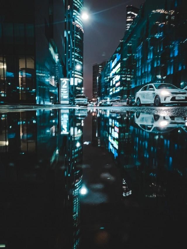 Городское отражение. Фотограф Кузнецова Ольга