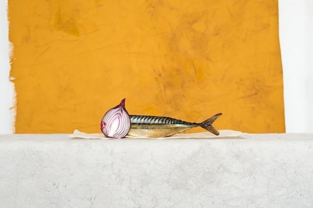 Натюрморт со скумбрией. Фотограф Юрий Пузанов