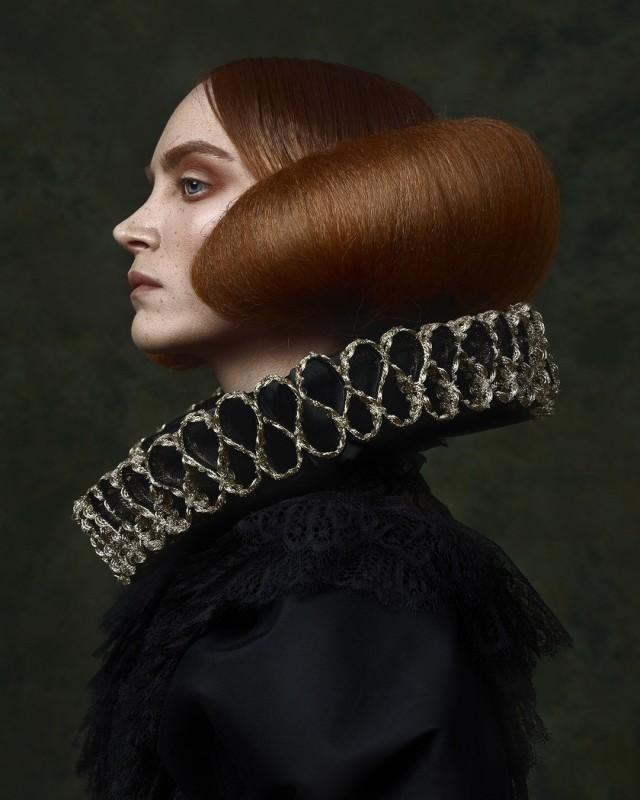 Портрет девушки по имени Лорка. Фотограф Надери Пейман