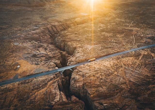 Слот-каньон в Аризоне. Фотограф Евгений Васенёв