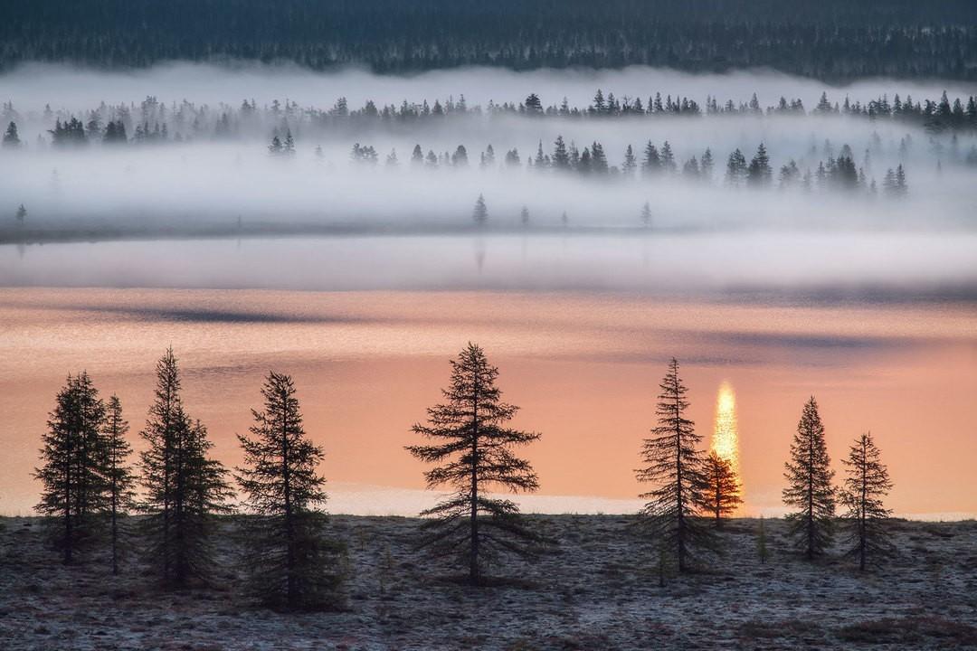 Снято на озере Момонтай. Фотограф Сергей Карпухин
