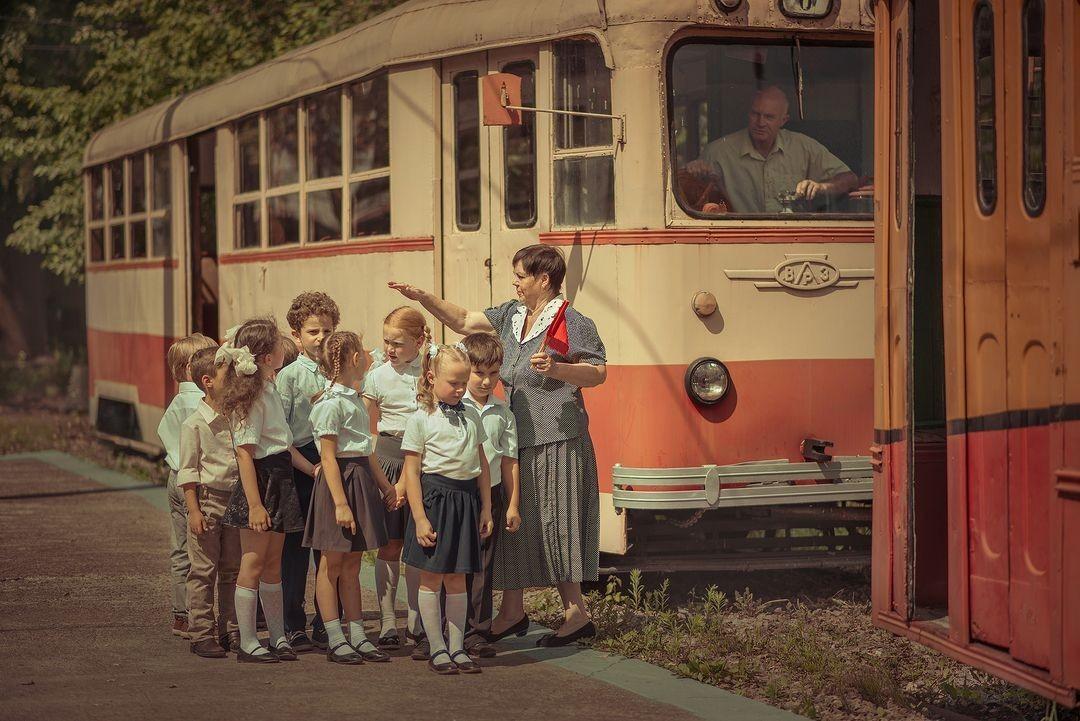 Школьная экскурсия. Фотограф Елена Миронова