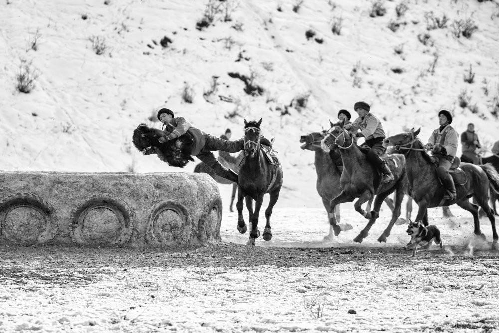 Кокпар в Южном Казахстане. Фотограф Есентаев Серик
