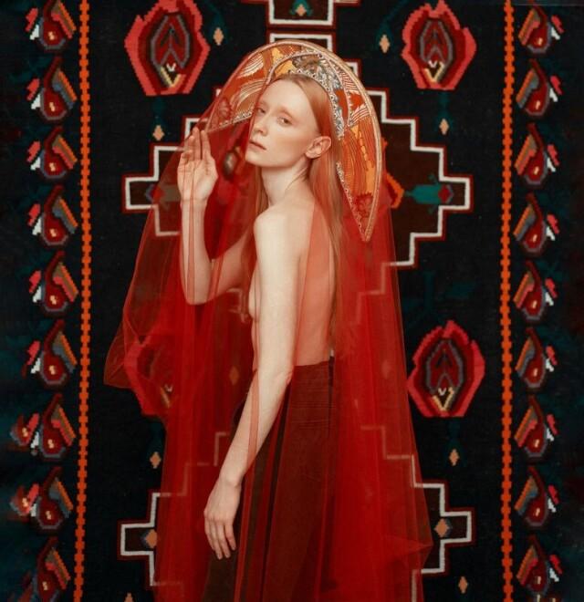Категория «Женский портрет», 6-ая фотопремия 35AWARDS. Фотограф Диана Цой