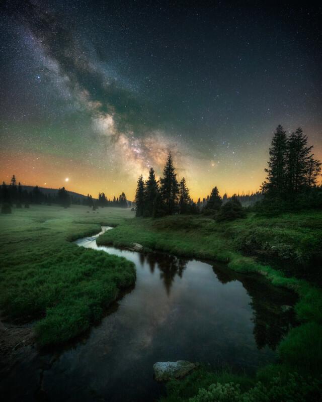 Категория «Пейзаж – ночь», 6-ая фотопремия 35AWARDS. Фотограф Jiri Benda