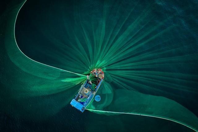 2 место в категории «Путешествия и приключения», 2020. «Рыболовные сети». Автор Тхиен Нгуен