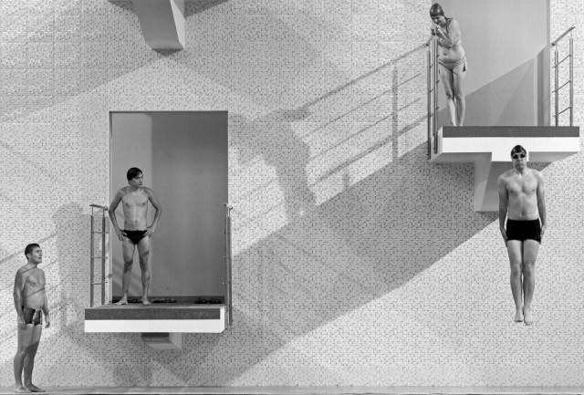 1 место в категории «Спорт в действии». Посетители бассейна в Астрахани. Автор Максим Коротченко